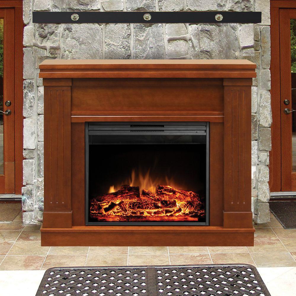 Muskoka Palmer 48 in. Electric Fireplace in Walnut-DISCONTINUED
