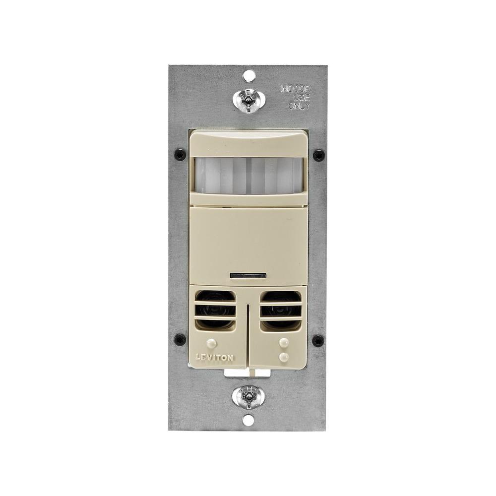 Decora Dual-Relay Multi-Technology Occupancy Sensor, Ivory