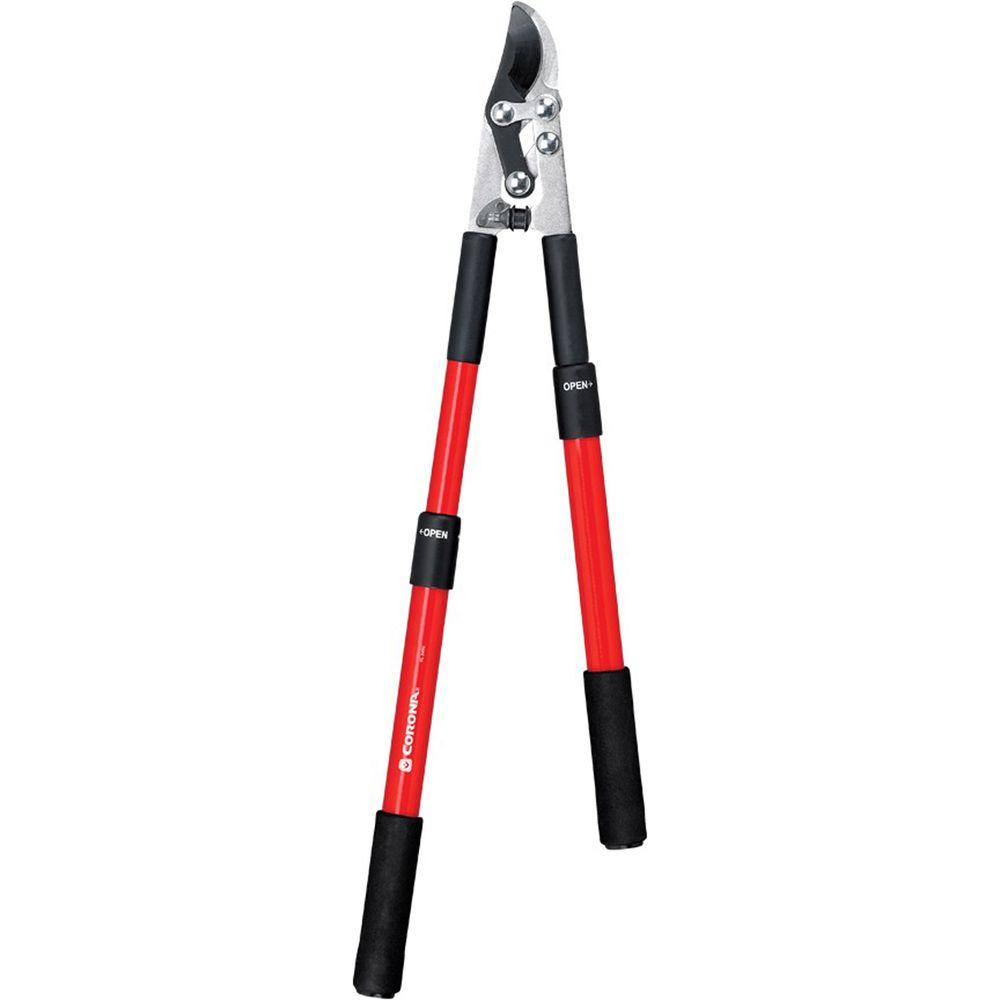 Corona 21-33 in. Extendable Handle Compound Action Bypass Lopper