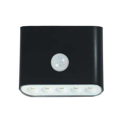 3.5 in. LED Black Motion Activated Puck Light