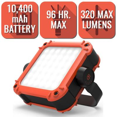 20-320 Lumens 10400 mAh GEAR AID ARC Portable LED Light and Charger for Camping