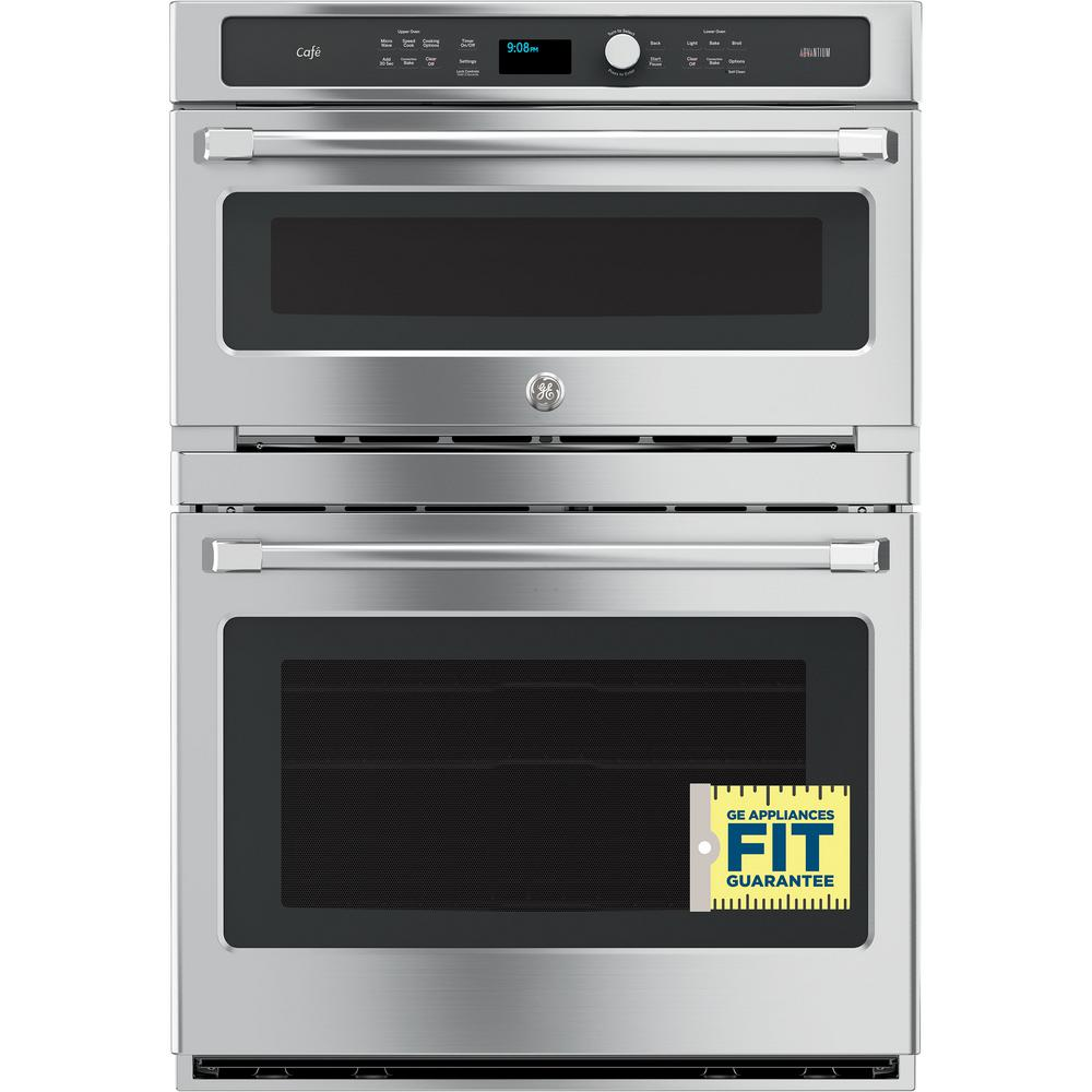 Ge 30 In Double Electric Wall Oven Self Cleaning Lower