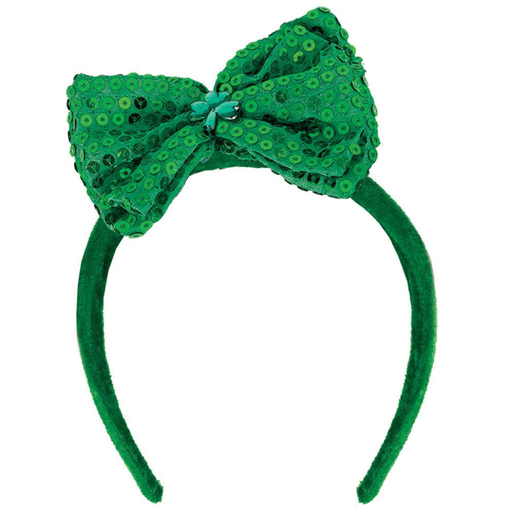 Amscan Green Bow St. Patrick s Day Headband (3-Pack)-399922 - The ... 967d26a8a46