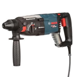 Bosch 8 Amp Corded 1-1/8 inch SDS-plus Variable Speed Rotary Hammer Drill with Auxiliary Handle and Carrying... by Bosch