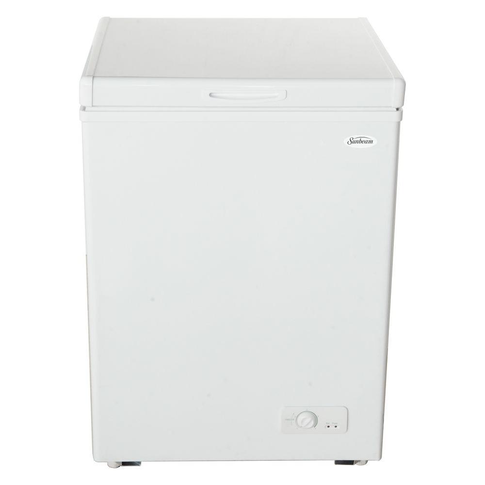 Sunbeam 3.5 cu. ft. Chest Freezer in White