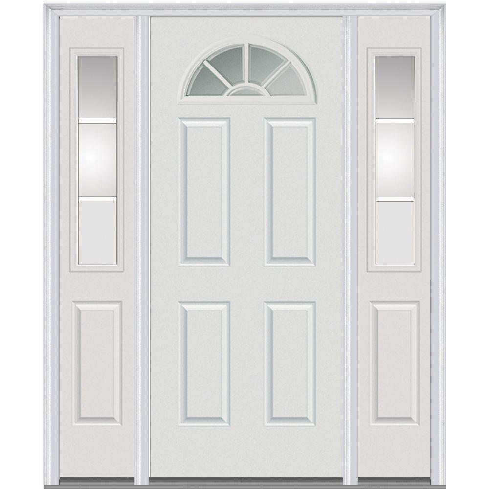 Mmi Door 64 In X 80 In Internal Grilles Right Hand Inswing 14