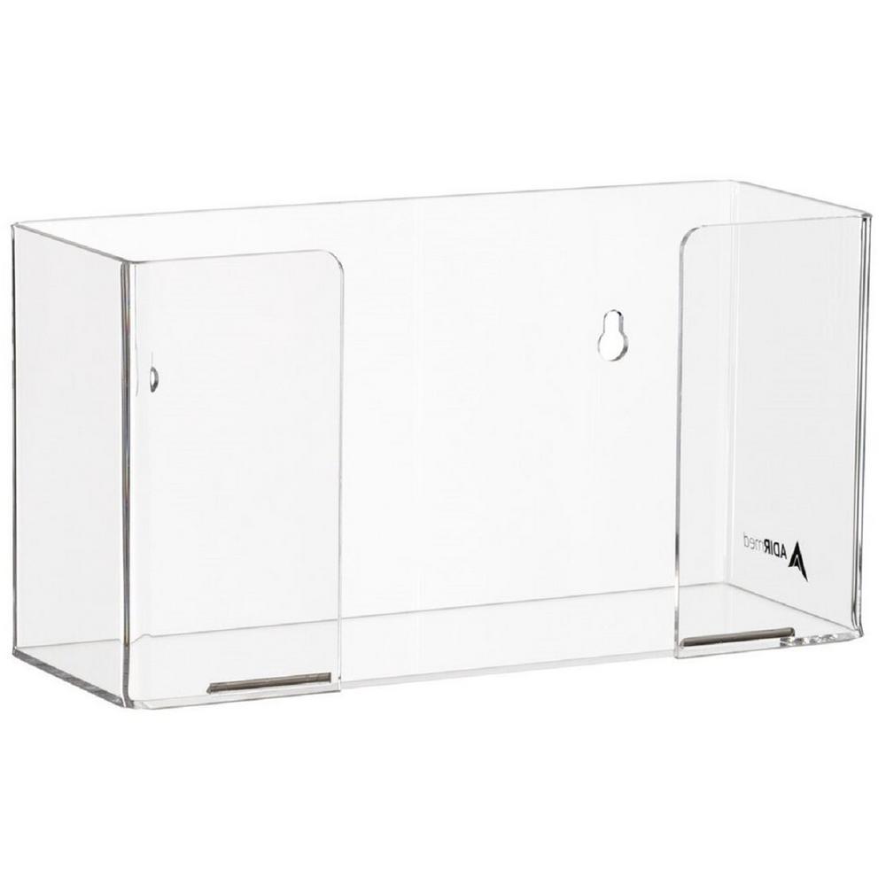 Single Box Capacity Acrylic Glove Dispenser