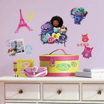 5 in. x 11.5 in. Home Peel and Stick Wall Decal (26-Piece)