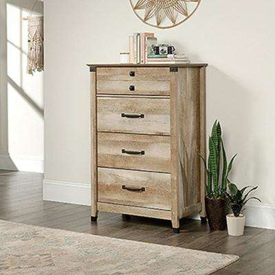 Carson Forge 4-Drawer Lintel Oak Chest