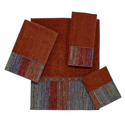 Sundance 4-Piece Bath Towel Set in Copper