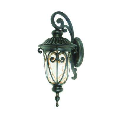 Viviana Collection 1-Light Oil-Rubbed Bronze Outdoor Wall Mount Lamp