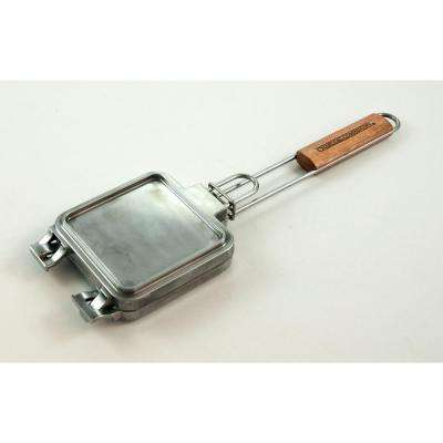 Cast Aluminum Grilled Cheese Iron
