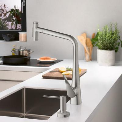 Hansgrohe Pull Down Kitchen Faucets Kitchen Faucets The Home Depot