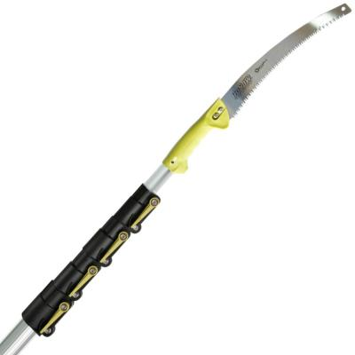 6 ft.-24 ft. 288 in. x 2.5 in. x 2.5 in. Extension Pole Plus GoSaw Attachment Telescopic Pole Saw Extendable LimbTrimmer