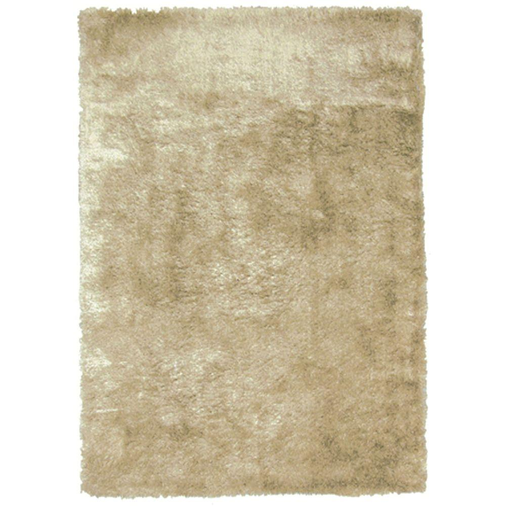 Home Decorators Collection So Silky Sand 2 ft. x 3 ft. Area Rug