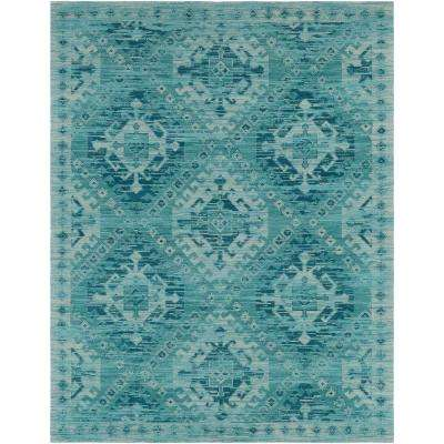 Low Pile Cotton Farmhouse Area Rugs Rugs The Home Depot