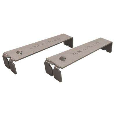 4-1/2 in. x 3/4 in. Masonry Brick Line Clips (2-Pack)
