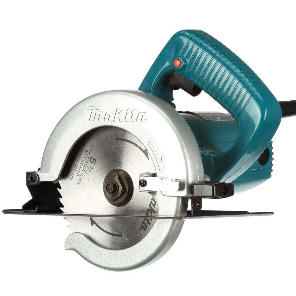 Makita 8 amp 5 12 in corded electric brake circular saw with 18t corded electric brake circular saw with greentooth
