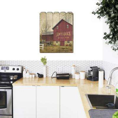 """Antique Barn"" by Billy Jacobs Wood Wall Art"