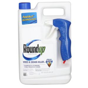 Roundup 1 gal. Ready-to-Use Plus Weed and Grass Killer (Case of 4) by Roundup
