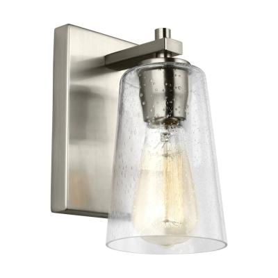 Mercer 1-Light Satin Nickel Sconce