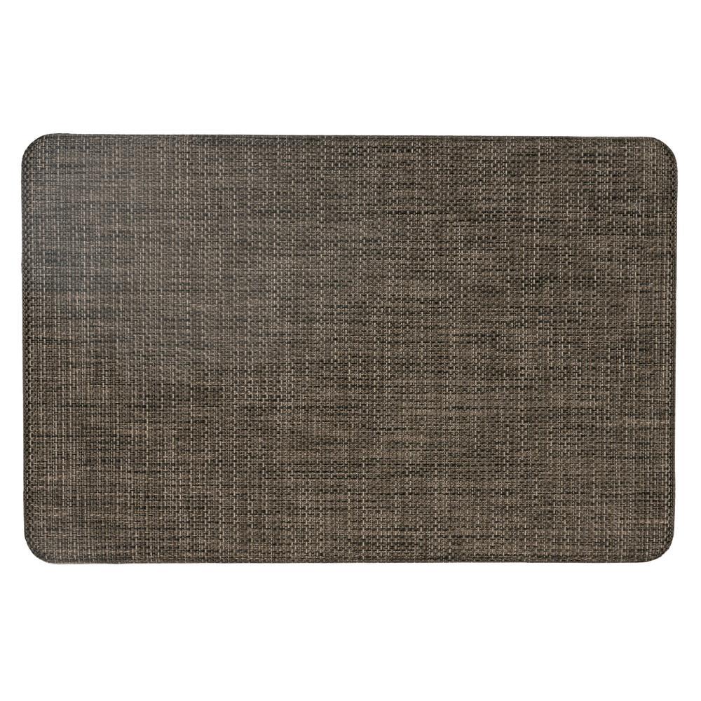 Modern Texture 20 in. X 30 in. Beige Anti-Fatigue Mat