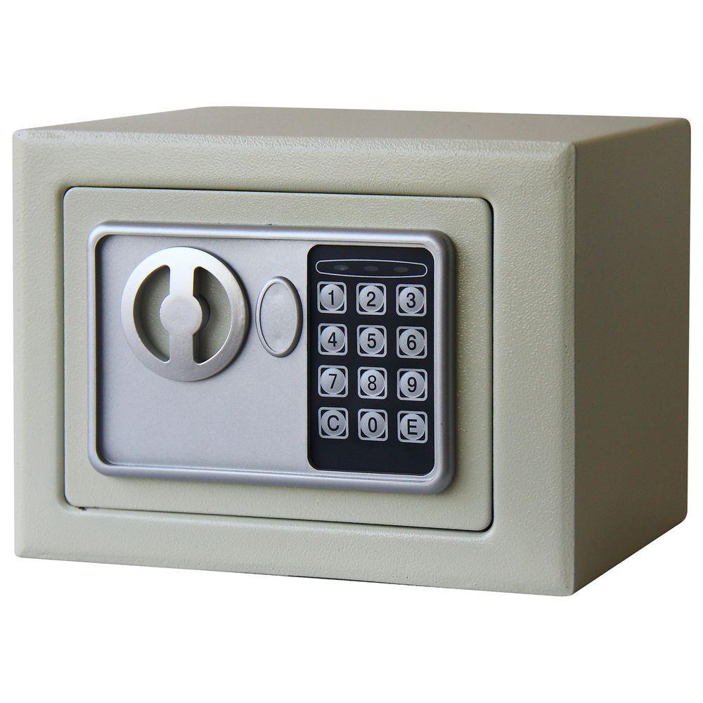 0.16 cu. ft. Deluxe Digital Lock Steel Safe