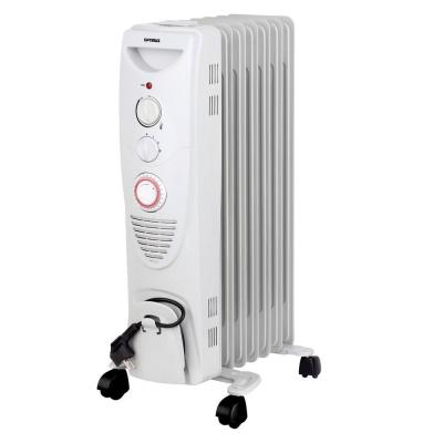 1500-Watt Portable 7-Fins Oil Filled Radiator Space Heater with Timer