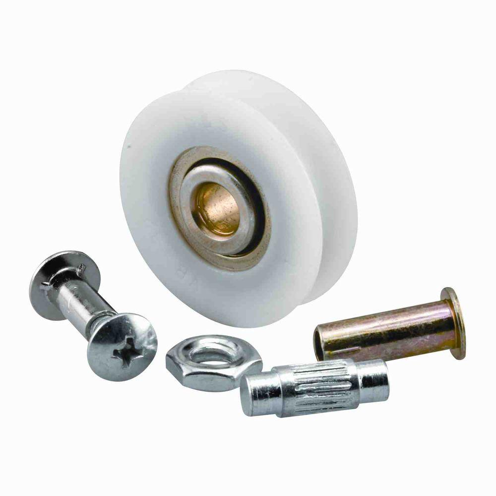 Prime Line 1 1 4 In Nylon Glass Door Rollers 2 Pack D