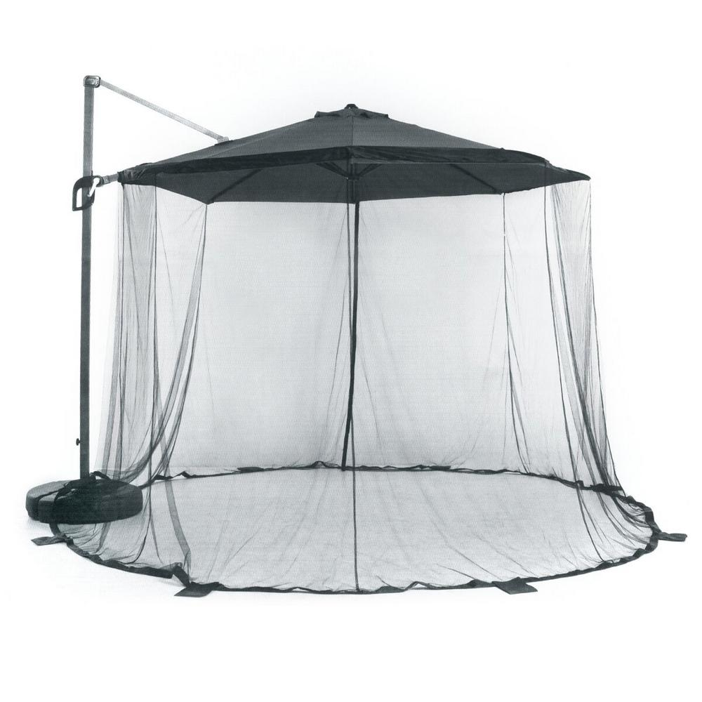 premium selection d5102 78391 Suntime 118 in. x 118 in. Large Mosquito Net (Parasol and Stand Not  Included)