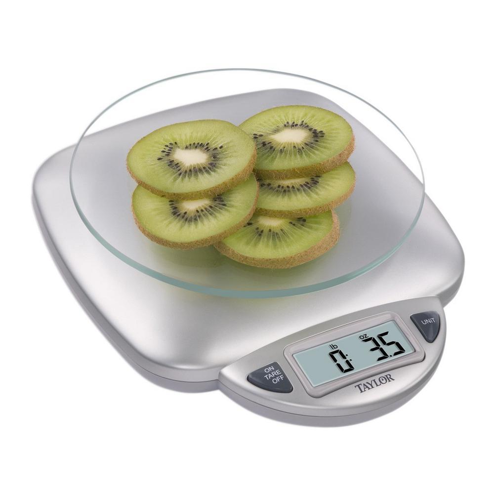 Internet #205826078. Taylor Digital Kitchen Scale ...