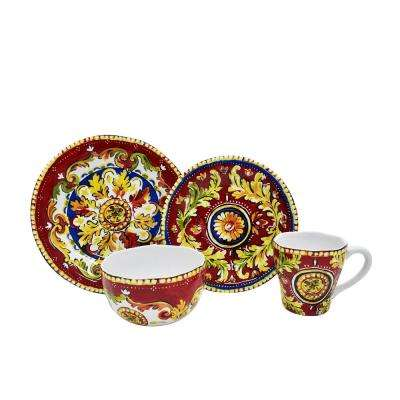 Oberon 16-Piece Dinnerware Set