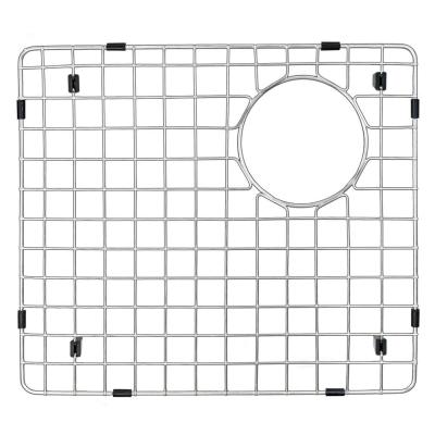 14 in. x 15-1/5 in. Stainless Steel Bottom Grid Fits Large Bowl On QT-721 and QU-721