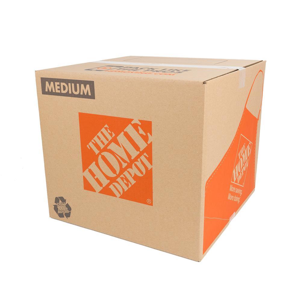22 in. L x 16 in. W x 15 in. D Medium Moving Box