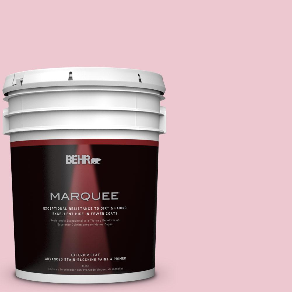 BEHR MARQUEE 5-gal. #M140-2 Funny Face Flat Exterior Paint