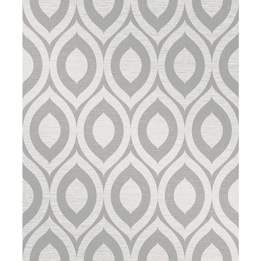 8 in. x 10 in. Rimini Grey Geometric Sample