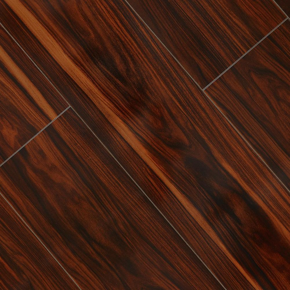 High Gloss Redmond African 8 mm Thick x 7-3/5 in. Wide