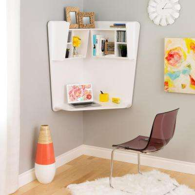 White Laminate Desk