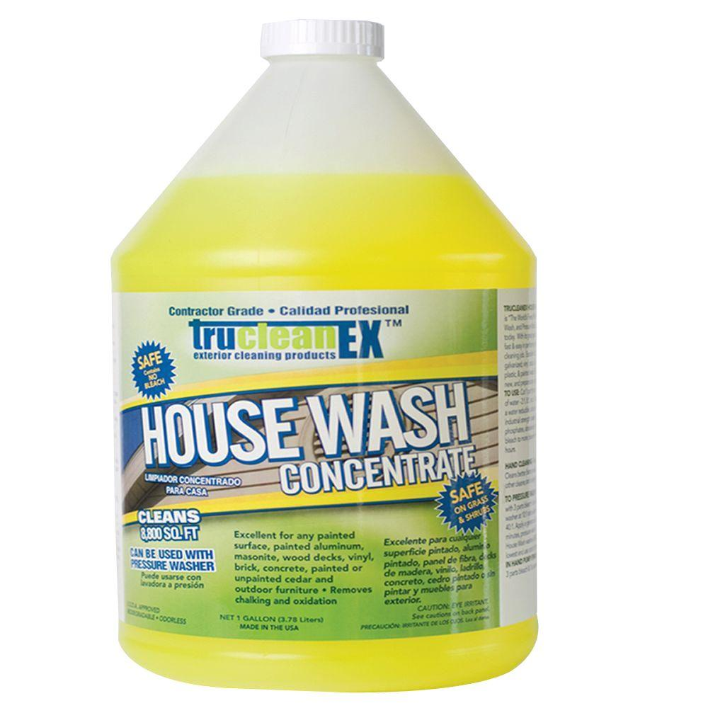 CFI 1-gal  TruCleanEX House Wash Cleaner Concentrate