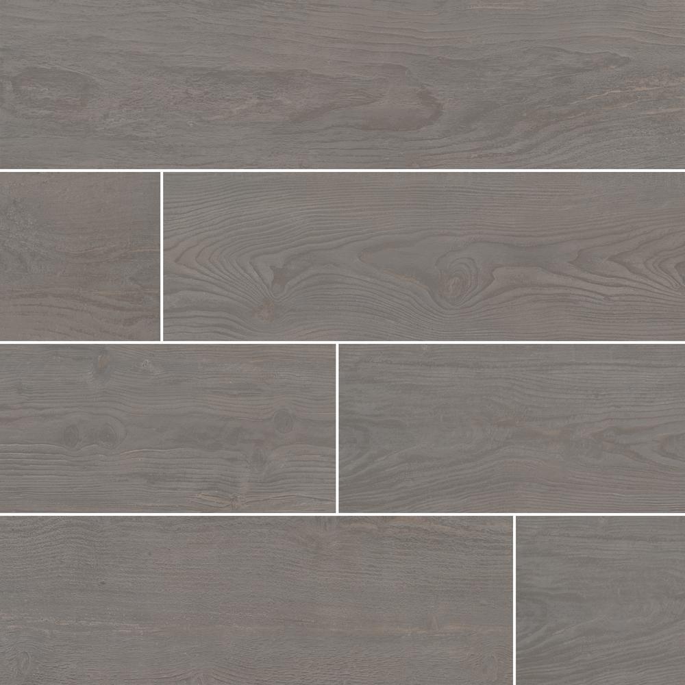 Caldera Coala 8 in. x 47 in. Matte Porcelain Floor and Wall Tile (15.67 sq. ft. / case)