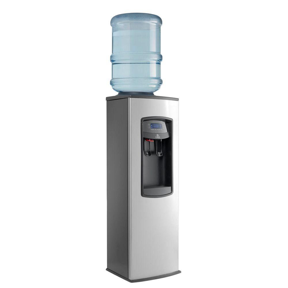 Oasis Odyssey Hot and Cold Dual Temp Energy Star Cooler Dispenser - Stainless Steel Finish-DISCONTINUED