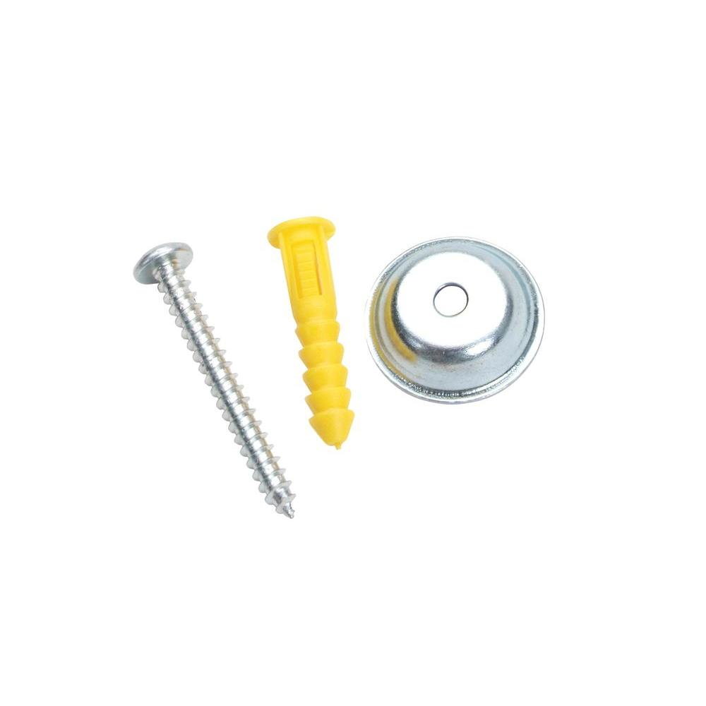 DuraHook Steel/Plastic Pegboard Mounting and Spacer Kit for DuraBoard or 1/8 in. and 1/4 in. Pegboard (15-Sets)