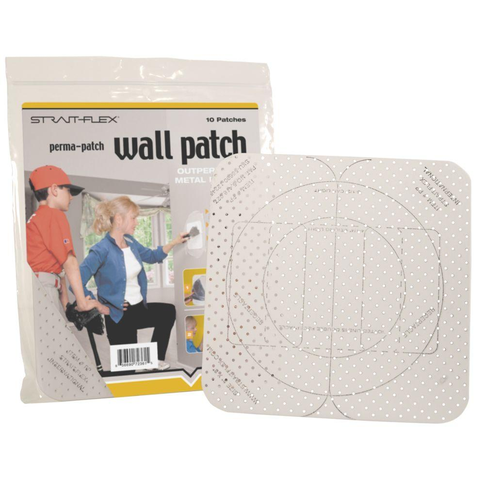 Strait-Flex 8 in. x 8 in. Large Drywall Perma Patch