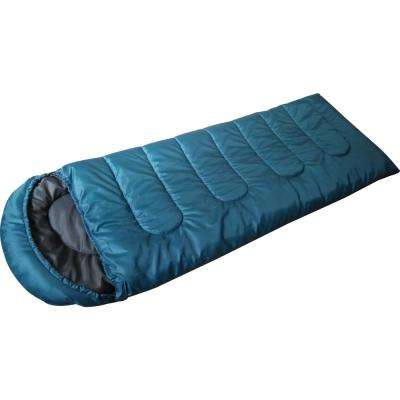 Cool Weather Envelope Mummy Sleeping Bag in Blue