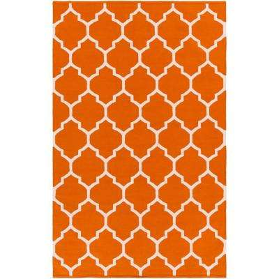Vogue Claire Coral 3 ft. x 5 ft. Indoor Area Rug