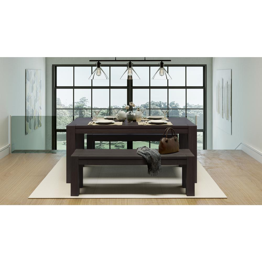 Admirable Artefama Furniture Kubo Espresso Dining Bench 5835 0002 Ibusinesslaw Wood Chair Design Ideas Ibusinesslaworg