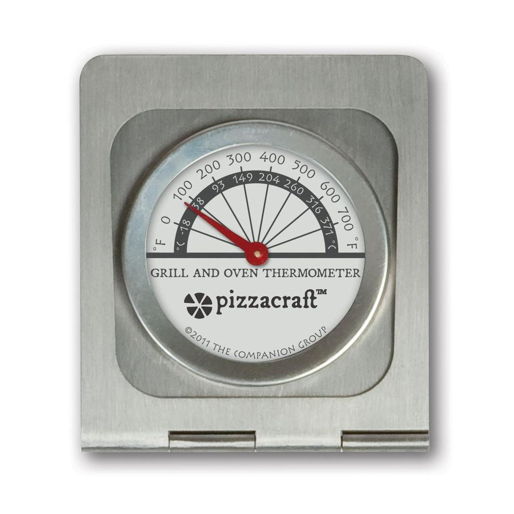 Pizzacraft Analog Oven And Grill Thermometer Pc0409 The