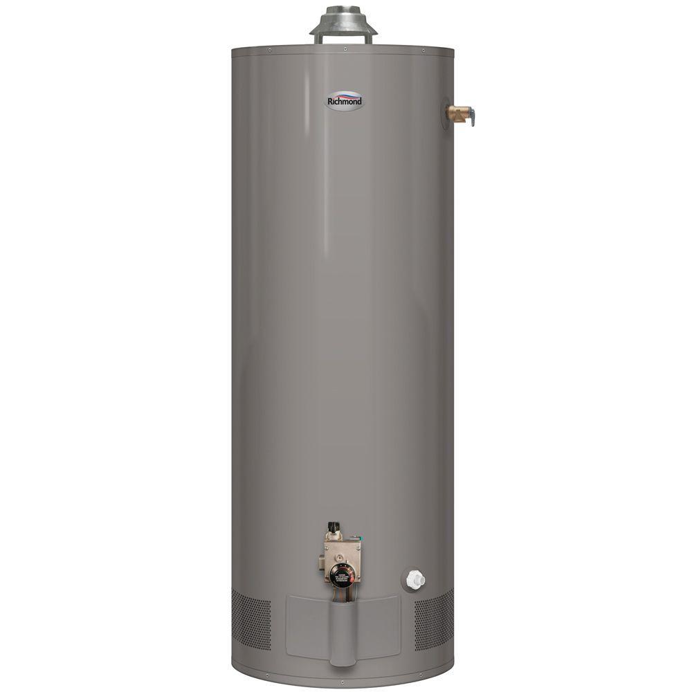 50 Gal. Tall 6 Year 60,000 BTU Natural Gas High Demand Water Heater