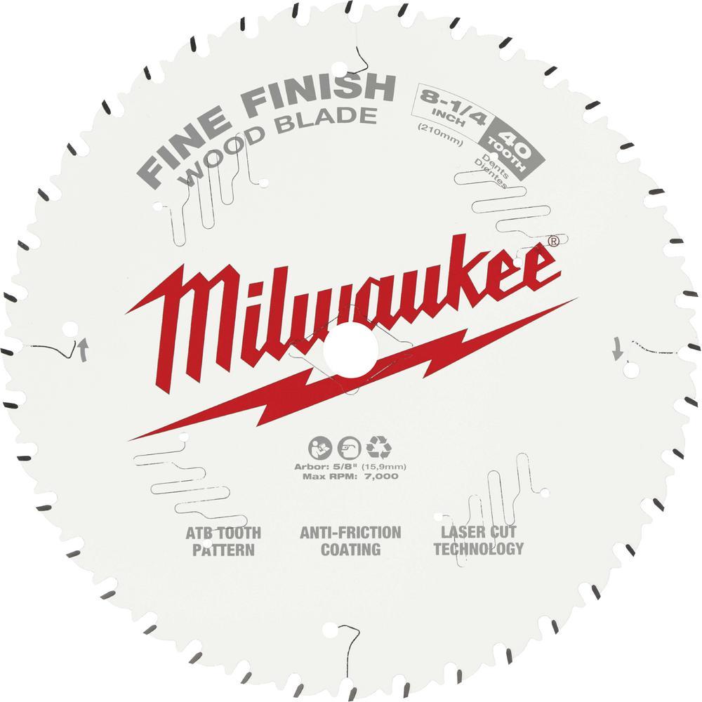 Milwaukee 8-1/4 in  x 24-Tooth Framing Circular Saw Blade