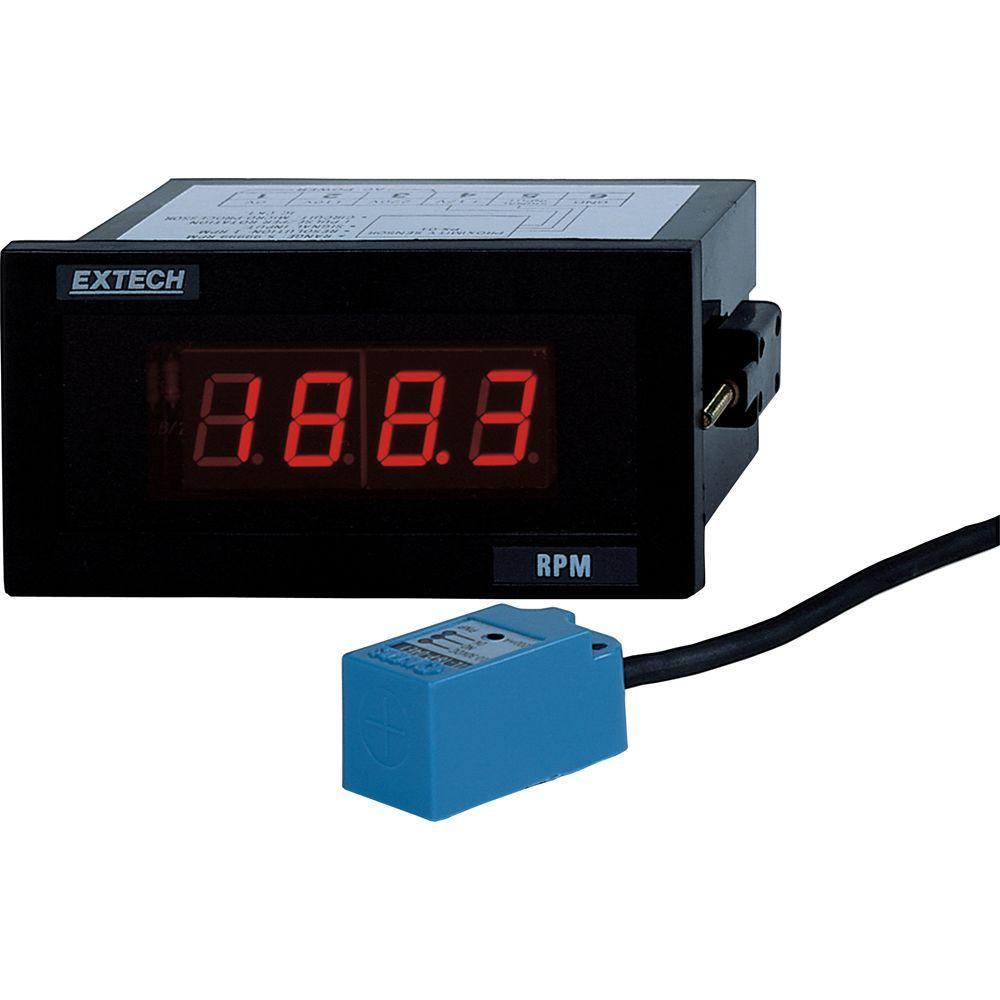 Extech Instruments 1/8 DIN Panel Tachometer